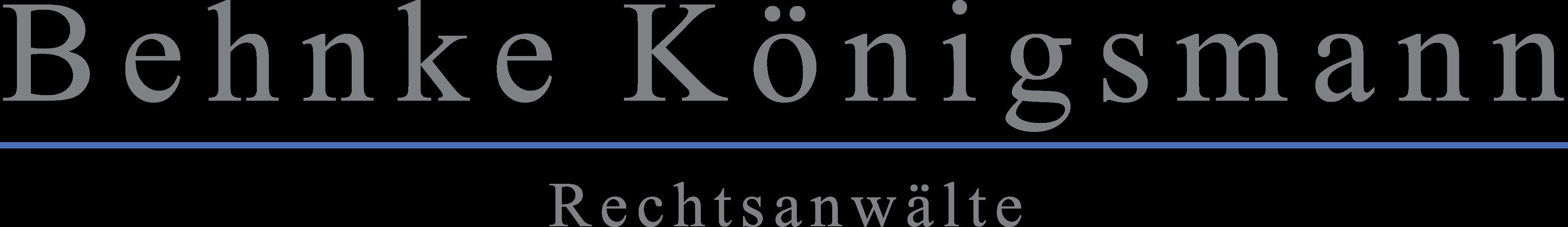 Behnke Königsmann Burscheid · Wirtschaftsprüfer · Steuerberater · Rechtsanwälte